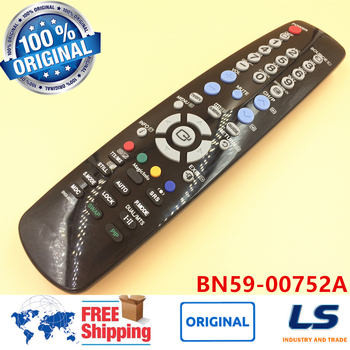 ORIGINAL REMOTE CONTROL TM-96B BN59-00752A FOR SAMSUNG LCD TV PH63KLFLBF/ZA, SMT9566, 320MXN2, P50, P63, 320MP2/ZA, 320MX, 320M image