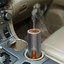 GX. Difüzör taşınabilir araba USB ultrasonik nemlendirici uçucu yağ difüzör Aroma YAYICI hava temizleyici aromaterapi Mist Maker
