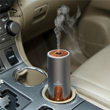 GX.Diffuser รถแบบพกพา USB Ultrasonic Humidifier น้ำมันหอมระเหยกลิ่น Aroma Diffuser เครื่องฟอกอากาศ Aromatherapy Mist Maker