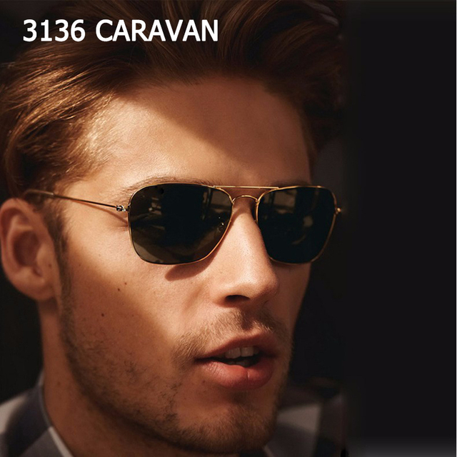 eae6bdbaad JackJad 2019 Fashion Vintage 3136 CARAVAN Aviation Style Sunglasses Classic  Men Women Driving Fishing Sun Glasses Oculos De Sol