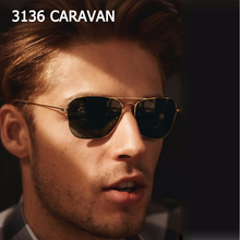 JackJad 2019 Fashion Vintage 3136 CARAVAN Aviation Style Sunglasses