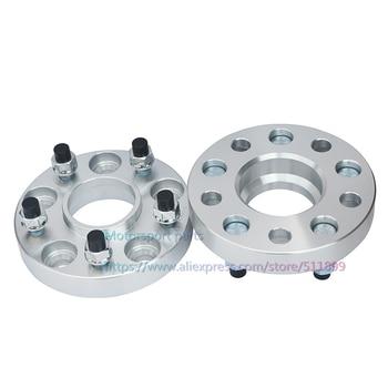 (2 unids/lote) PCD 5x115 CB 70,3mm de espesor 25mm de aluminio neumático de coche brida espaciadores de rueda para Buick GL8