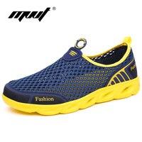 2017 Super Light Summer Shoes Men Breathable Mesh Casual Men Shoes Comfort Fashion Men Flats Quality