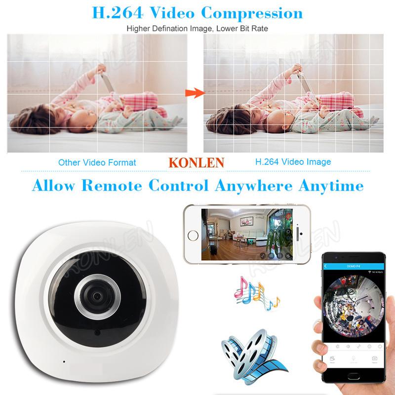 WIFI IP Camera 1080P 3W