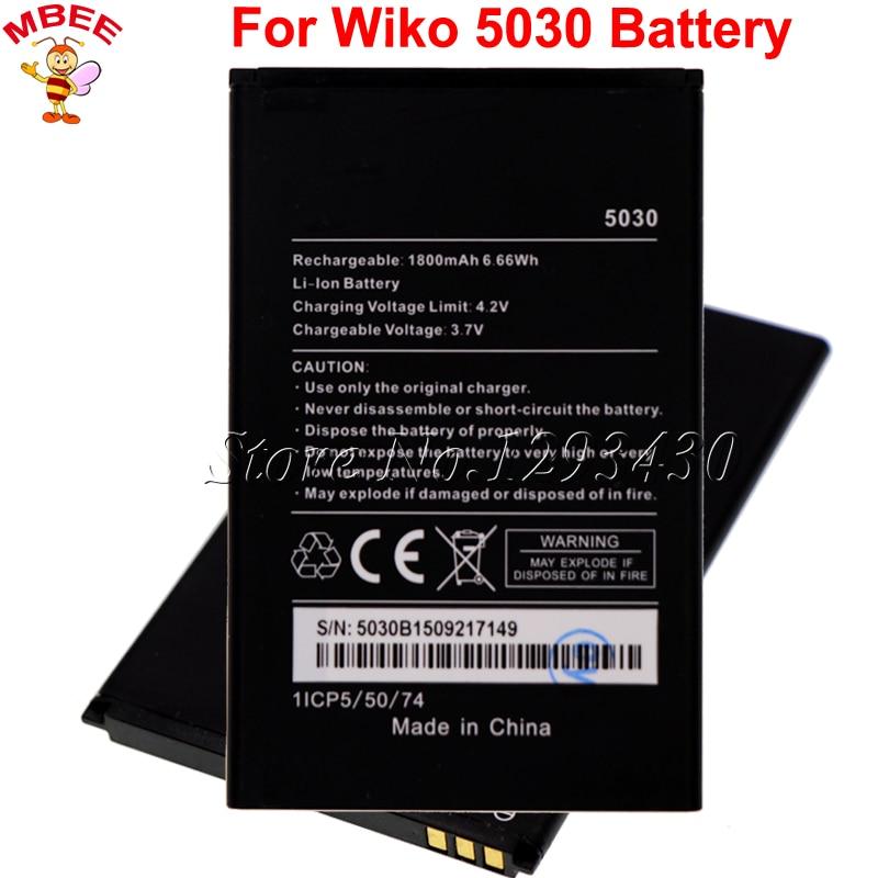 1800mAh For Wiko 5030 Battery Batterie Bateria AKKU
