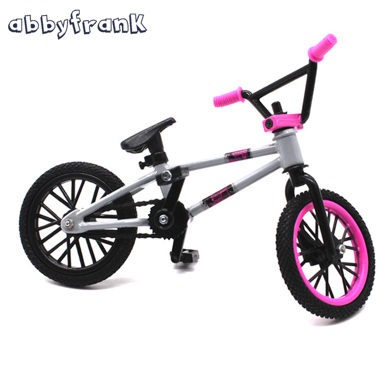 Mini Finger BMX Professional Mini Bicycle Novelty Gag Toys lick Trix Finger Bikes Gadgets For Deck Classic Game BMX Toys