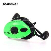 Bearking Una serie + 2017 Nueva Mela Super Ligero Cuerpo Max 7.0: 1 Dulce/Agua Salada carrete de Pesca Spinning Reel Envío Gratis