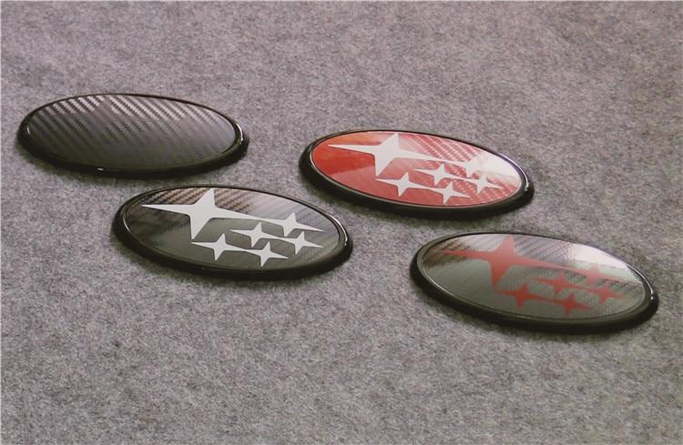 Мате птицы Subaru модифицированный логотип лес человеческий Лев XV Impreza WRX STI BRZ акриловое углеродное волокно до и после стандарта