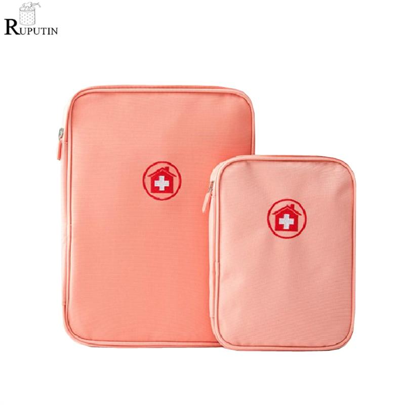 RUPUTIN New Large Capacity First Aid Kits Travel Medicine Drug Storage Bag Portable Package Family Stroage Box