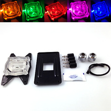 Bykski CPU-XPH-B CPU Water Cooling Block with LED Light For AMD AM2 AM3 AM4 FM1/2 Series Platform