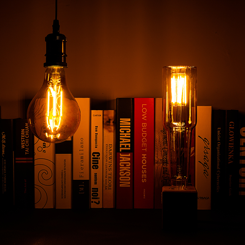 Vintage LED Filament Bulb E27 4W 220V LED Novel Lamp Unique Design Edison Lampada Retro Ampoule Yellow Warm Bulb Bombilla Light