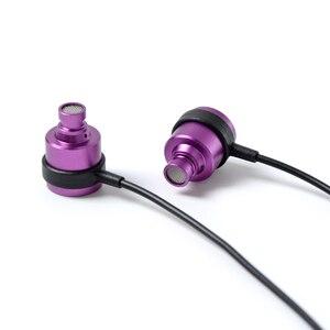 Image 5 - 2019 nowy NICEHCK ezudio D4 w ucho słuchawki 10mm Titanizing membrana dynamiczny jednostka HIFI metalowe słuchawki słuchawki douszne z mikrofonem