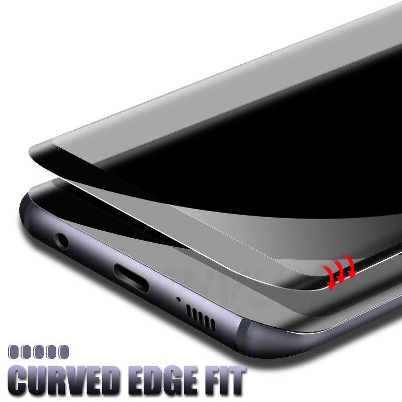 Image 2 - 10D изогнутое закаленное стекло для samsung Galaxy S9 S8 S7 Edge Note 8 9 S10e S10 Plus Защитная пленка для экрана-in Защитные стёкла и плёнки from Мобильные телефоны и телекоммуникации