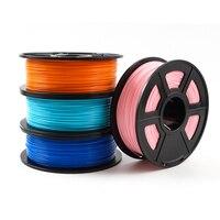 3D-принтеры накаливания 1,75mm 1 кг/2.2lbs PLA PETG ТПУ нейлон углеродного волокна проводящий ABS ПК POM ASA дерево HIPS ПВА Пластик нити