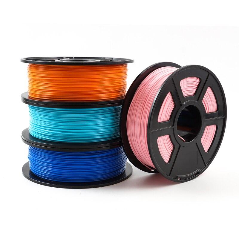 Impressora de Filamento 1.75 milímetros 1 3D kg/2.2lbs PLA PETG TPU Nylon Fibra De Carbono Condutora ABS POM PC ASA madeira HIPS PVA Filamento Plástico