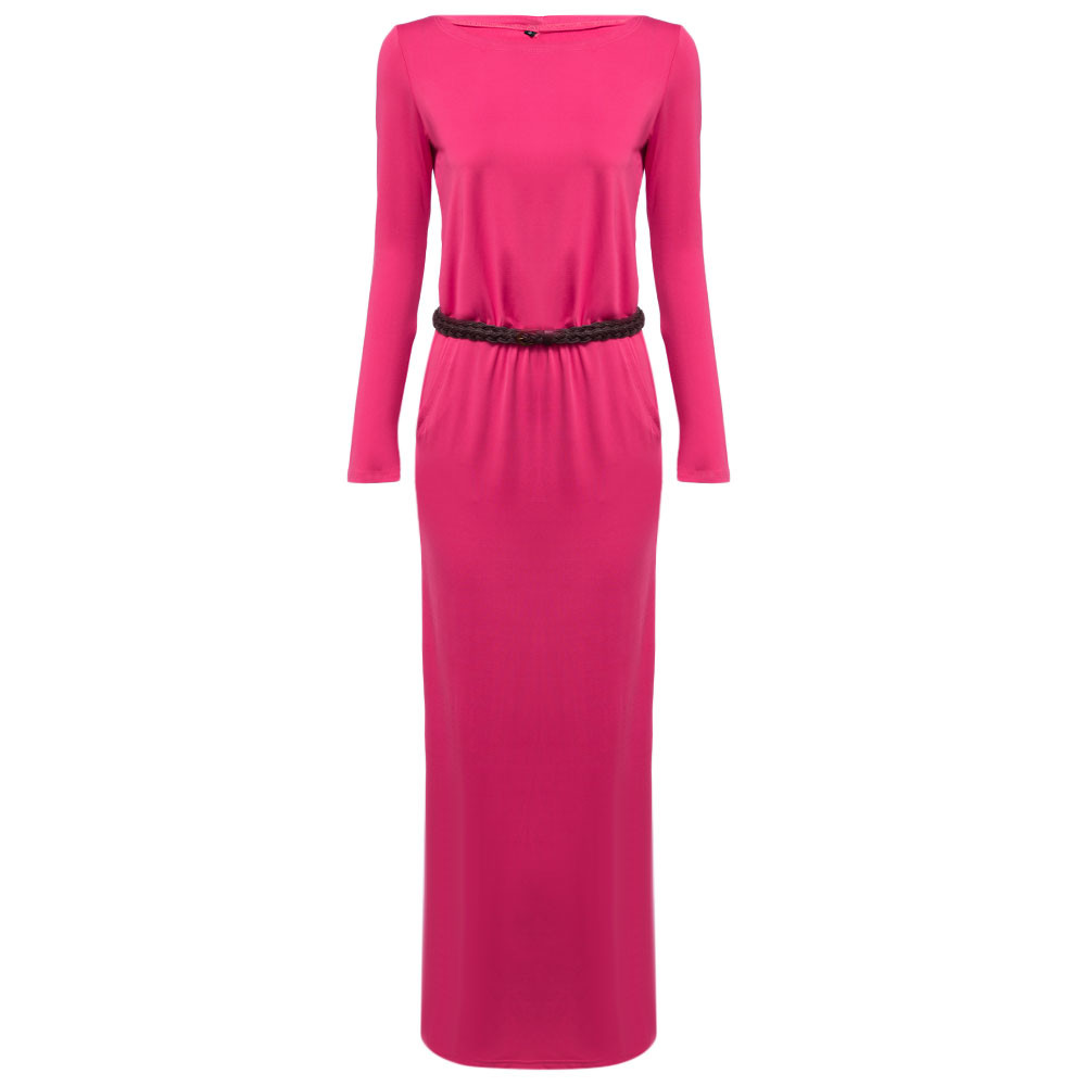 VESTLINDA Vintage Vestidos Longo Jurken Women Maxi Dress Full Sleeve Casual Dress Autumn A Line Solid Ropa Mujer Long Dress 15