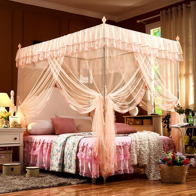 Fantastisch Elegante Klassische Prinzessin Moskito Netze Für Mädchen Spitze Insekt Bett  Baldachin Netting Vorhänge Palace Moskito Net