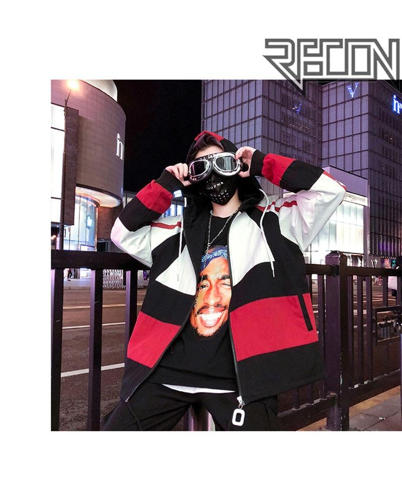 Autumn Spring Jacket Windbreaker Korean Men Hip Hop (4)