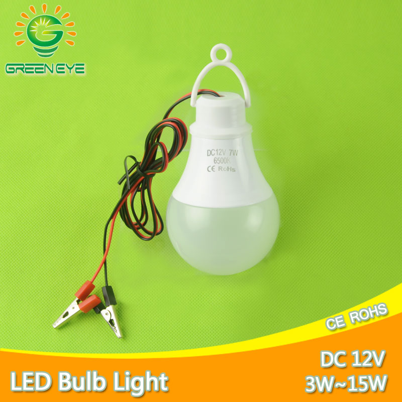 Ultra Bright Portable Hang Light Lamp With Clip DC <font><b>12V</b></font> <font><b>LED</b></font> Bulb 3W 5W 7W 9W 12W <font><b>15W</b></font> Outdoor Party Camp Night Fishing Emergency image