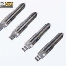 Engraved Line Key Blade 2 in 1 LiShi TOY38R for Hafei Daewoo Type scale shearing teeth blank car key locksmith tools