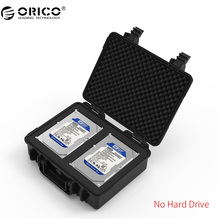ORICO PSC-L2 Dual-bay 3.5 inch Hard Drive Protection Case Water-proof Shock-proof Dust-proof -Black