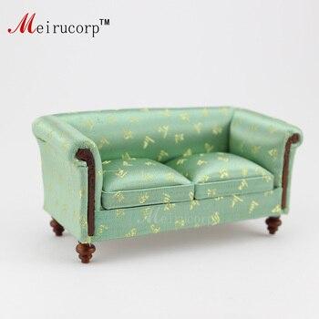 цена на Fine 1:12 scale dollhouses miniature furniture Handmade lovely sofa 10285