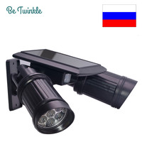 Solar Garden Light 14 LED Spotlights PIR Motion Solar Sensor Led Solar Wall Lights For Outdoor