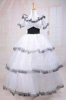 Gothic Lolita dress princess dress cosplay tailor Victorian dress Dot shorts evening dress custom made