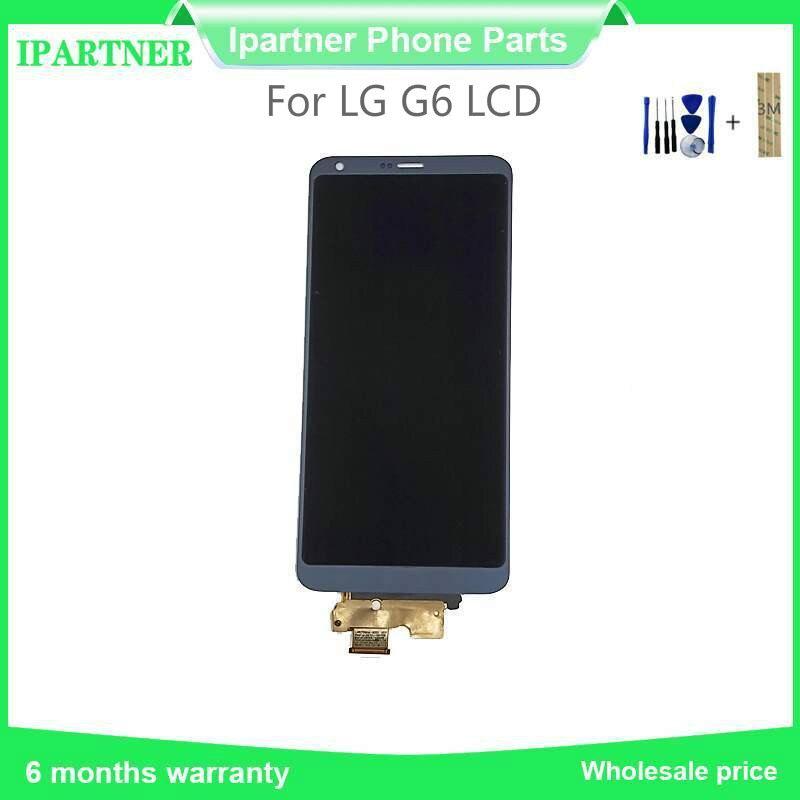 Pour LG G6 LCD écran tactile numériseur assemblée pièces de rechange 5.7 pouces testé bon avec 3 M autocollant cadeau outils