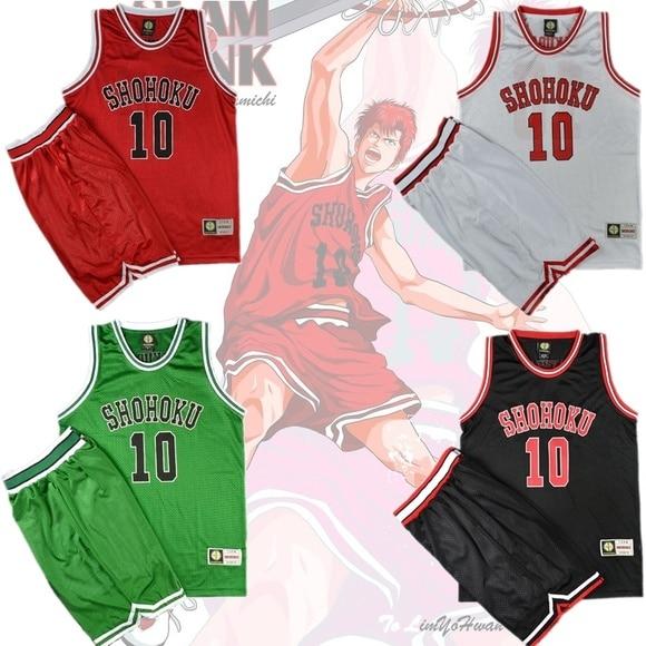 Slam Dunk Shohoku Basketball Replica Jersey Cosplay Costume NO.11 Sakuragi