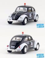 1 PC 12 5cm Kinsmart Alloy Model Car Toy 1 32 Mass Policeman Cars Beetle 1967