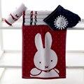 Adulto coelho miffy toalhas 100% algodão gaze dupla banheiro com uma grande towel absorvente macio moda e generoso
