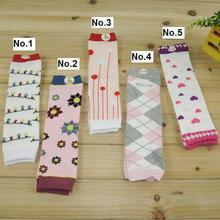 wholesale baby legging socks 5 pairs/lot bamboo fiber children  leg warmers knee pad 5 styles dr0004-36 free shipping