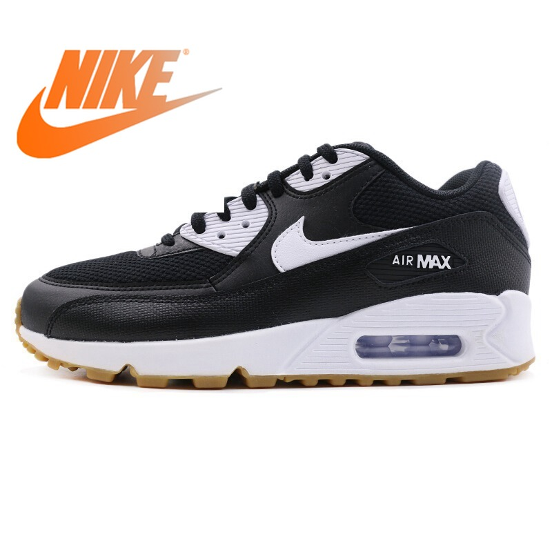 Оригинальные аутентичные 2018 NIKE AIR MAX 90 LE женские кроссовки низкие дышащие кроссовки амортизацию Спорт на открытом воздухе 325213