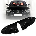 Pair Gloss Black Rearview Mirror Cover For BMW F20 F21 F22 F30 F32 F36 X1 F87 M3 2012 2013 2014 2015 2016 2017
