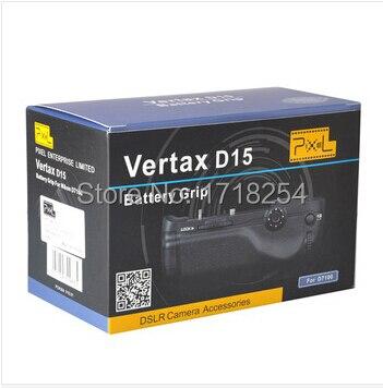 ピクセルvertax d15用ニコンd7100バッテリーグリップBG E16高品質+ 2年保証