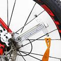 2017 Da Bicicleta Da Bicicleta Do Pneu Da Válvula 16 do Flash LED Raios Da Roda Luz 32 tipos de Padrões