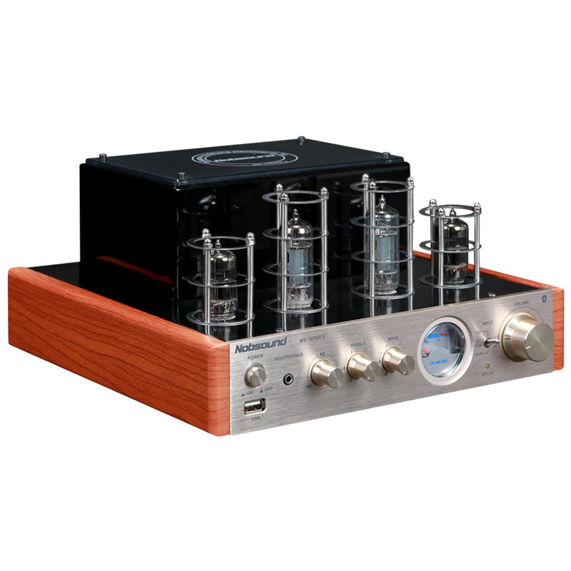 100W NPS MS-10D MKII Hifi Vaccum Tube Amplifier USB/Bluetooth Home Audio Amplifier 25W+25W 220v/50HZ Amplificador Bluetooth Amp