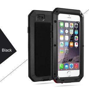Image 5 - Doom Armor Life Shock DropproofกันกระแทกสำหรับiPhone 12 11 Pro X Xs Max Xr 7 8 PlusโลหะอลูมิเนียมซิลิคอนCoque