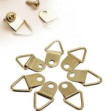 D-кольцо маслом вешалки зеркала висячие картина треугольник рамка крючки золотой шт.