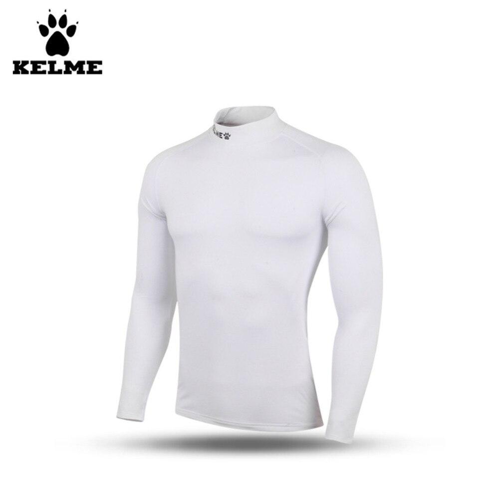 Kelme K15Z735 enfants Plus épais velours manches longues respirant carcan blanc