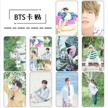 Kpop Gift Jewelry Bangtan Boys 2019 Rushed New Albums K-pop singing For You Set 10 Postcards Poster Card Photo Album k pop(China)