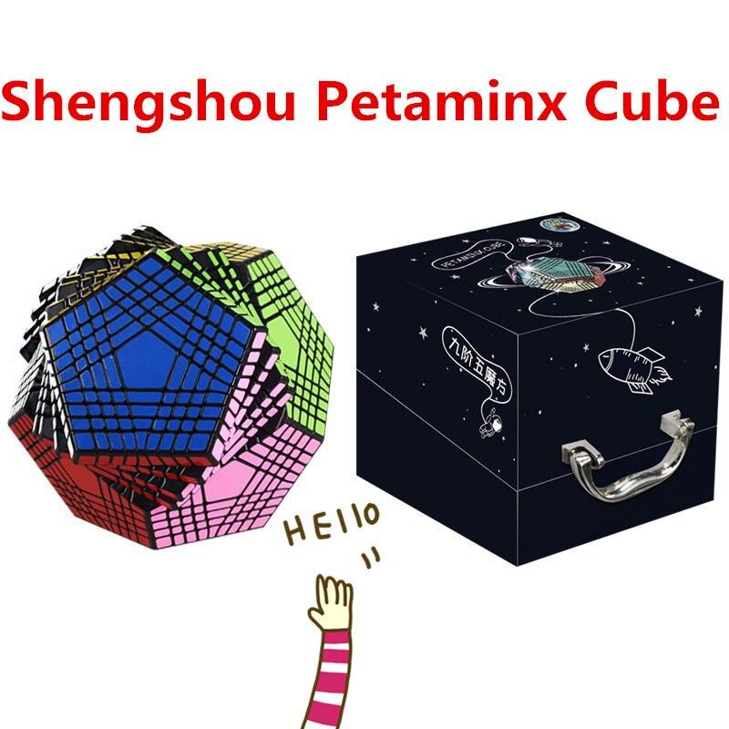 Puzzle de vitesse magique ShengShou Petaminx Cube 9x9 Megaminx