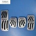 Car Accessory For Peugeot 2008 207 307 CC SW GTI/RC 208 GTI 308CC MT Mechanical Accelerator Brake Clutch Pedal Pad Sticker Cover