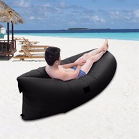 New Ultra Light Outdoor Inflatable Lounger Bag Lazy Air Sofa Waterproof Fast Inflated Air Chair Ideal