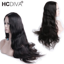 Malaysian Body Wave 360 Lace Frontal Wigs Pre Plucked With Baby Hair Remy Human Hair Wigs 150% Density 22x4x2 Lace Wig For Woman(China)