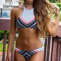 2016 New Design Sexy Women Brazilian Bikini Sets Monokini Swimwear Bohemia Swimsuit Biquini Push Up Bikinis