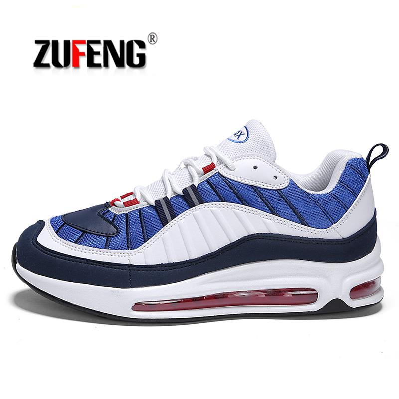the best attitude 26500 a5460 ZUFENG 2018 air cushion running shoes for men Sneakers music rhythm  upgraded soft Deodorant insole for outdoor athletic jogging