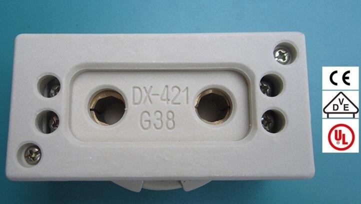 5 Керамический арахис G38 держатели светильника света розетка CE VDE