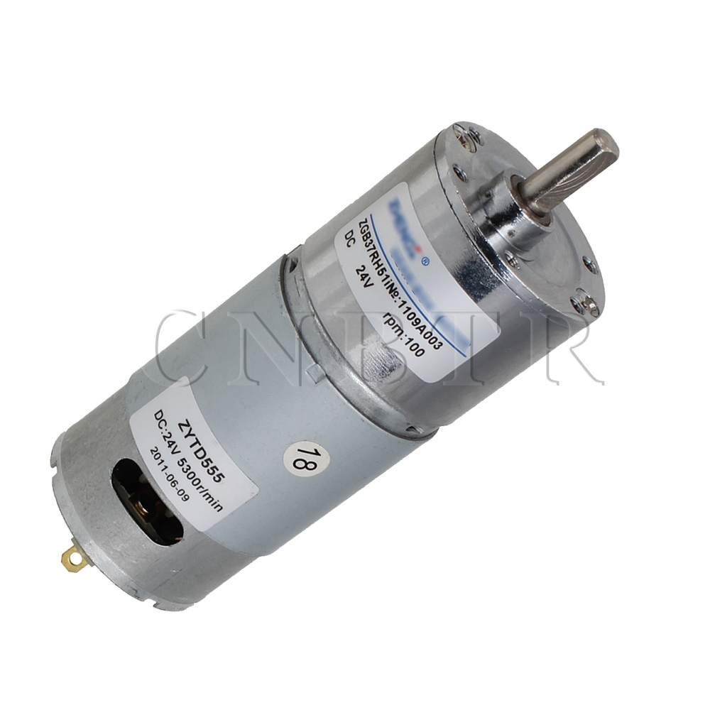 Dc 24v 200rpm High Torque 8mm Shaft Dia Electric Low Speed